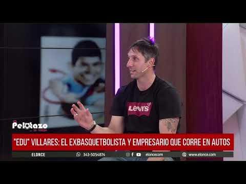 """""""Edu"""" Villares en El Pelotazo: """"Hay que tener algo para hacer inmediatamente cuando dejás de jugar"""""""