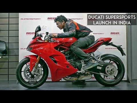 Ducati Supersport Launched! Prices, Specs and Walkaround from the event RWR