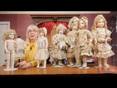 Bread and Roses Part 6 - Rare French Antique Dolls
