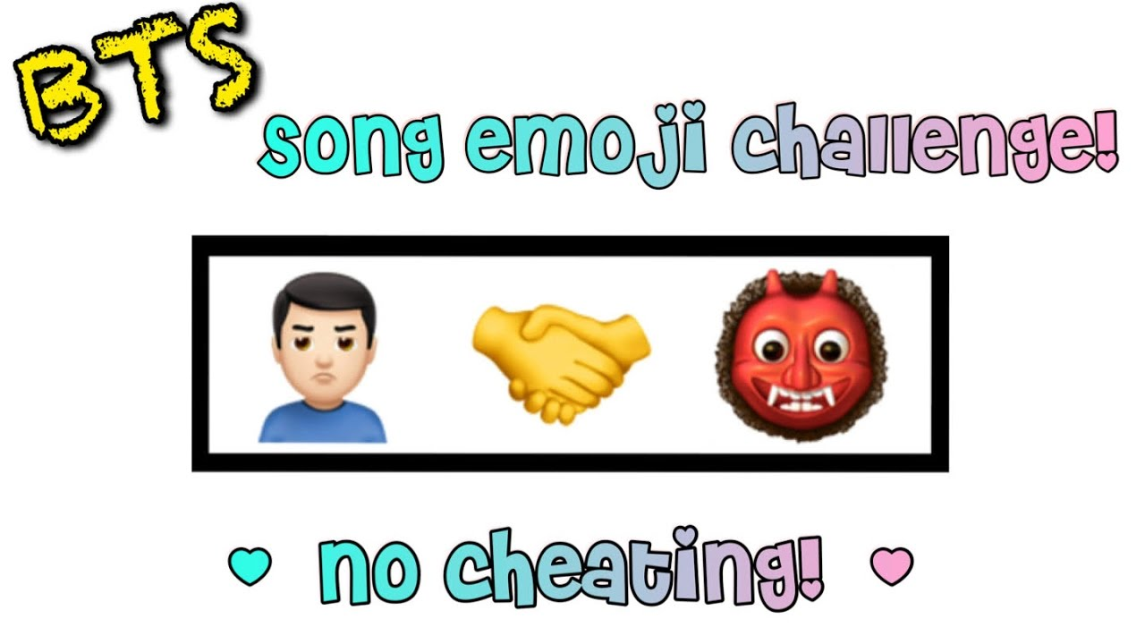 GUESS THE BTS SONG FROM THESE EMOJIS PT  1