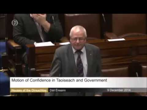Enda Kenny humiliated in Dáil by Mattie McGrath TD
