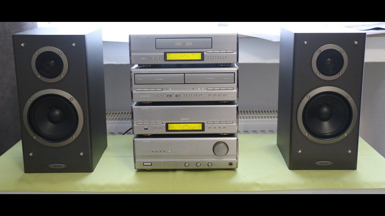 Denon Stereoanlage Der Serie 110 Youtube