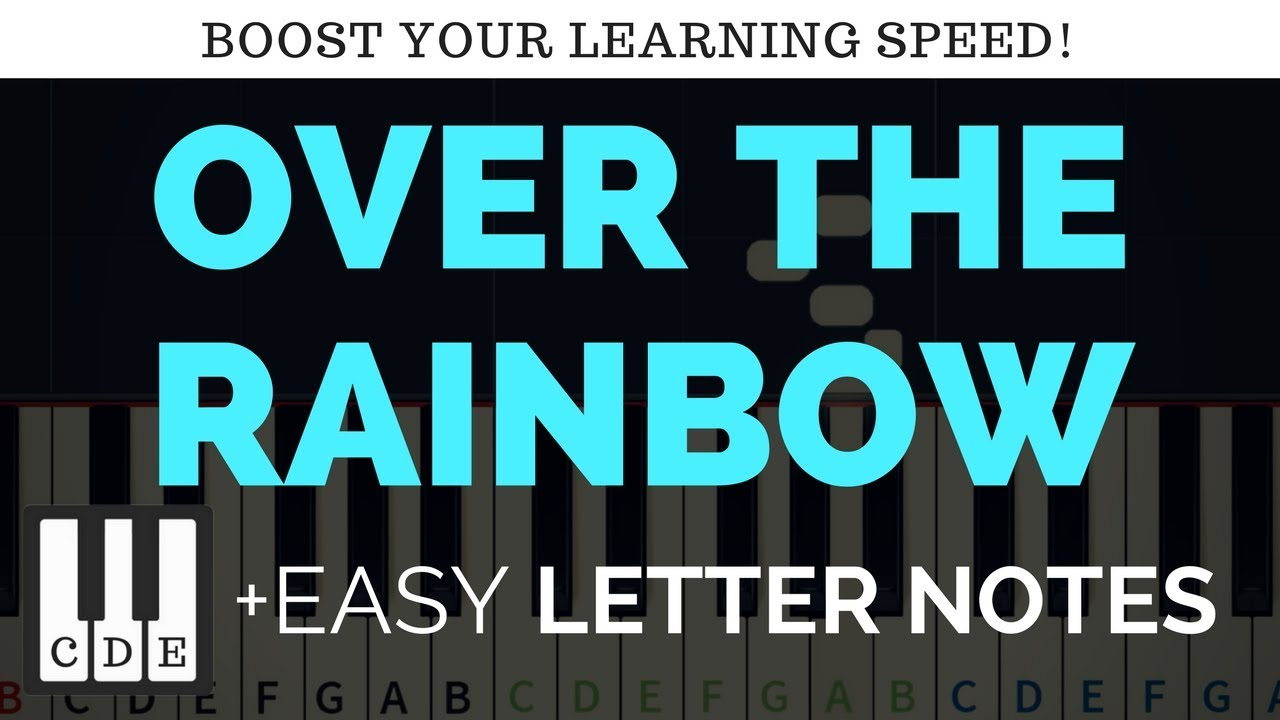 Somewhere over the rainbow – letter notes