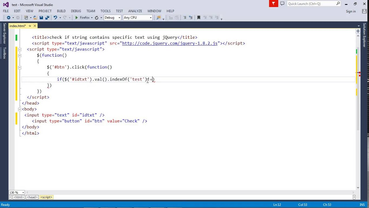 Jquery Html To String