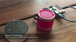 Video Amazon Echo: Alexa mit Raspberry Pi steuern! download MP3, 3GP, MP4, WEBM, AVI, FLV November 2017