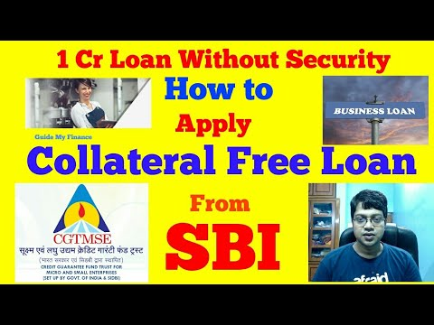 how-to-get-1-crore-collateral-free-loan-from-sbi-|-security-free-loan-from-sbi