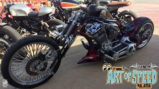 Art Of Speed 2017 | Garage63 Legendary Custom Punk Bobber | SneakPeak