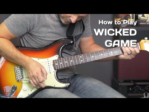 How To Play Wicked Game Chris Isaak - Guitar Lesson