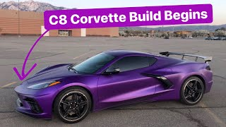 Meet my Purple C8 Corvette!