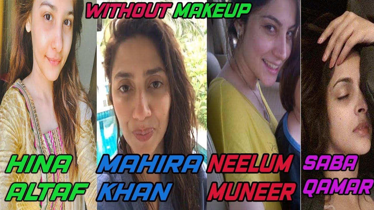 Makeup Saba Qamar Without