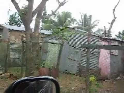 Ghetto Streets Santo Domingo Dominican Republic