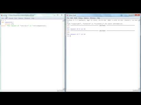 Running Python Programs from Notepad++