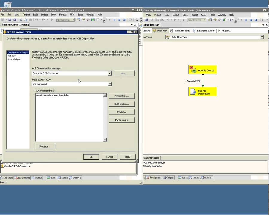 SQL Server 2012 - Leverage Microsoft Attunity Connector for Oracle to  Enhance Package Performance