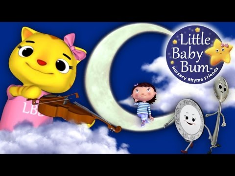 Hey Diddle Diddle | Nursery Rhymes | By LittleBabyBum!