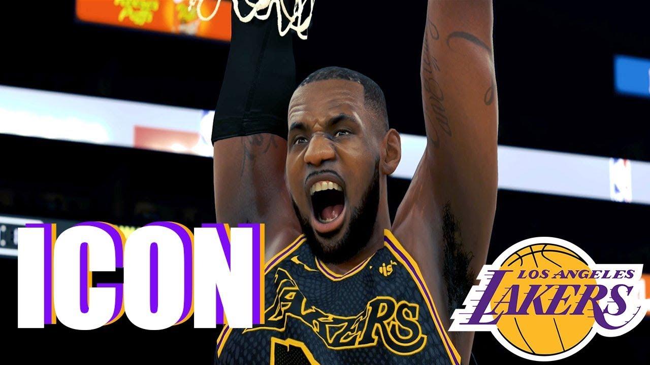 a5e6194f319f Lebron James LA Lakers - ICON (nba 2k18 Montage) - YouTube