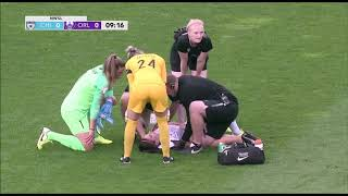 Alex Morgan Suffers Gruesome Neck Injury