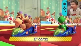Mario Kart 8 Deluxe ITA - Donkey Kong vs Yoshi - Trofero Campanella