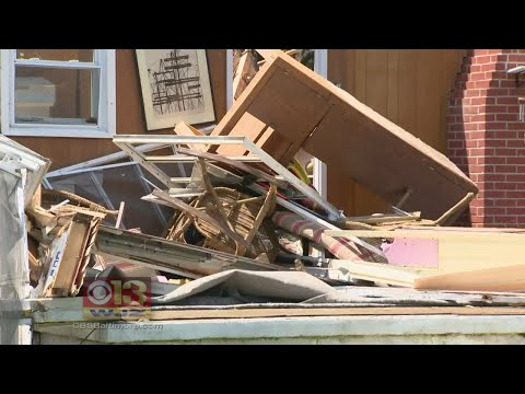 Complete Coverage On EF-2 Tornado On Kent Island