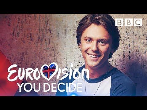 Jordan Clarke sings 'Freaks' | Eurovision: You Decide - BBC