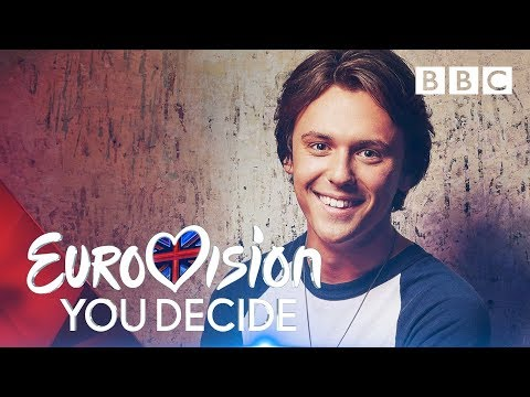 Jordan Clarke sings 'Freaks' | Eurovision: You Decide - BBC
