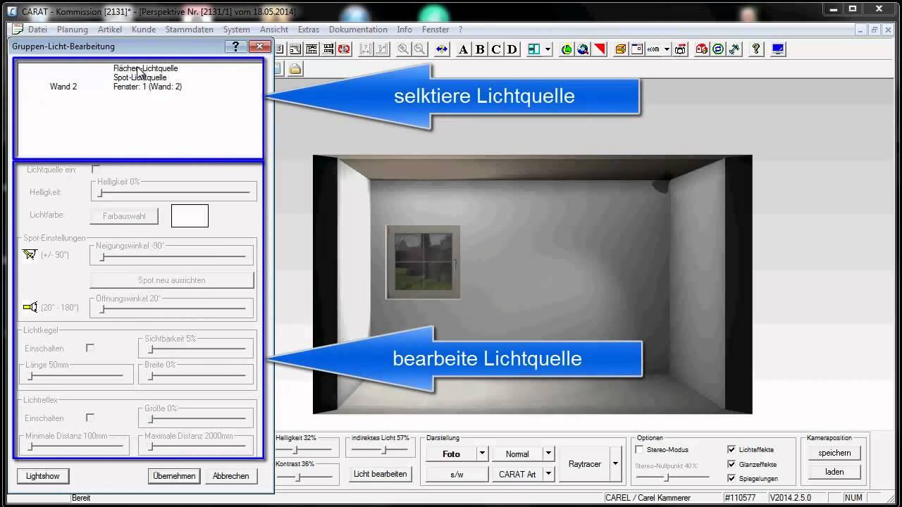 CARAT Licht - YouTube | {Küchenplaner software 36}