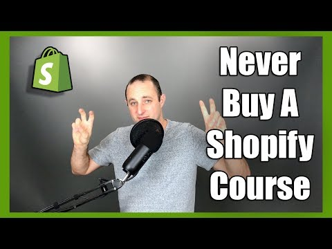 "⚠️ WARNING: Never Buy A ""Shopify"" Course 🚨"