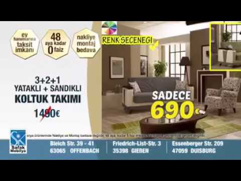 safak m bel kampanya 2 mai 2016 youtube. Black Bedroom Furniture Sets. Home Design Ideas