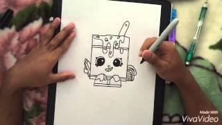 Shopkins Drawing - Alpha Soup