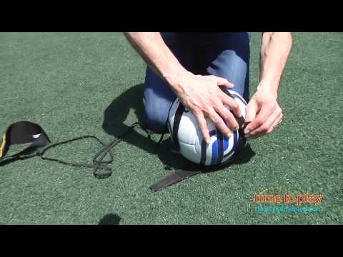 OPSLEA Sangle de Football Kick Trainer Comp/étences Solo Football Training Aid Outil R/églable
