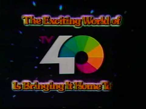 KTXL Exciting World of TV40 Promo 1 - 1979