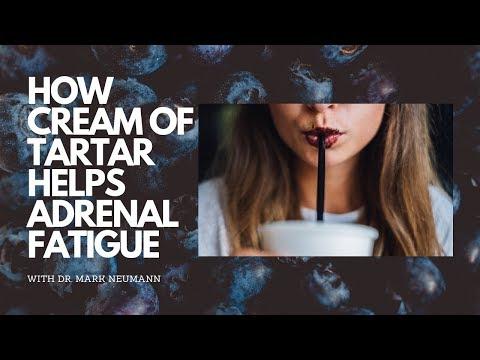 How Cream Of Tartar Helps Adrenal Fatigue...