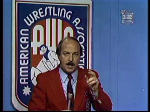 Mean Gene Okerlund as AWA announcer [1981-08-08] - YouTube