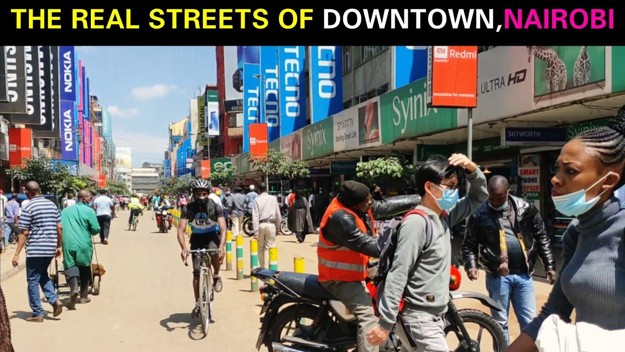 How does DOWNTOWN NAIROBI look like in 2020/The REAL Streets of Nairobi Metropolitan