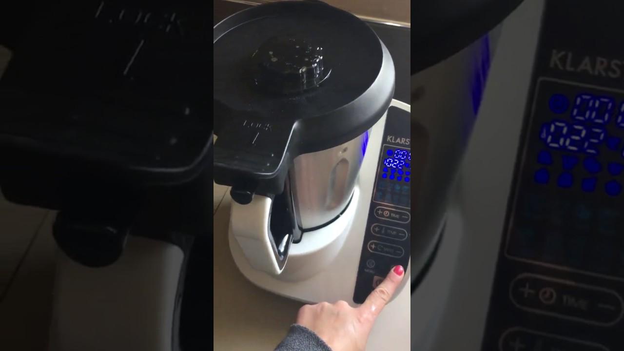 Klarstein Food Circus Robot De Cuisine Multifonctions Avec 10