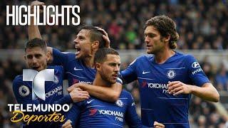 Newcastle vs. Chelsea: 1-2 Highlights   Premier League   Telemundo Deportes