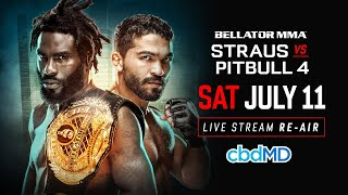Re-Air | Bellator 178 Straus vs. Pitbull 4