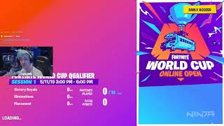 For this *BUG* NINJA was DISQUALIFIED from the WORLD CUP of FORTNITE!! ( TOP 99)