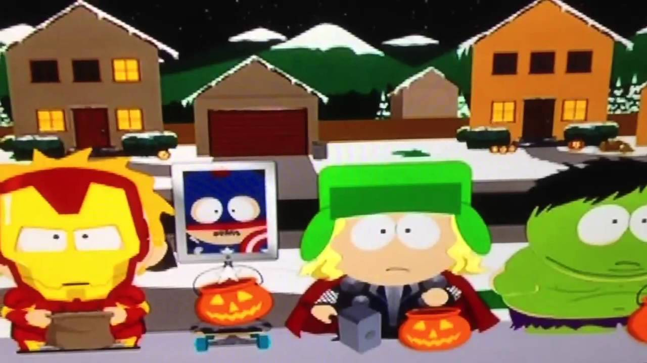 South Park Halloween - YouTube