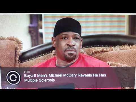 Boyz II Men Ex-member Michael McCary has Multiple Sclerosis (MS)...
