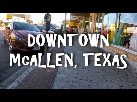 Downtown McAllen, Texas