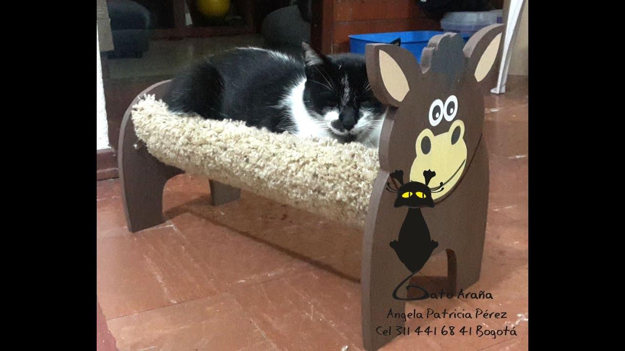 Trepadores y camas para gatos youtube - Camas para gatos ...