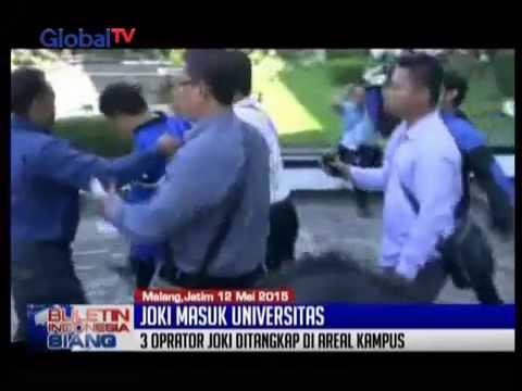 3 Joki Ujian Masuk Fakultas Kedokteran UMM, Malang, Tertangkap Tangan - BIS 12/05
