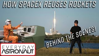 Why SpaceX reusing a rocket is a really big deal! Behind the scenes of the first reflown rocket!