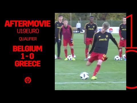 #U19EURO | Belgium - Greece 1-0 | behind the scenes E05