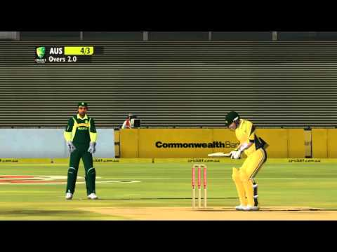 Ashes Cricket 2009 How to dismiss a team in less than five overs!