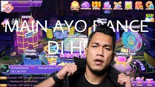 Main Game Ayo Dance di HP Iphone Ios dan Android - Ada lagu Armada asal kau bahagia