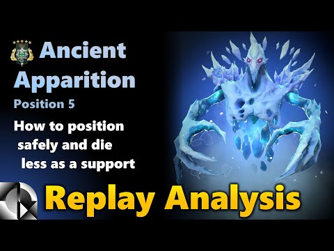 Replay Analysis: Ancient Apparition 5 Support - Archon 5 | Dota 2 7.29d