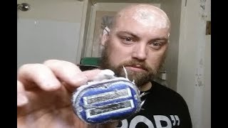 1-2 Weeks of Hair Growth FAST Head Shave