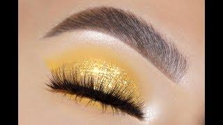 QUICK & EASY GOLD MAKEUP LOOK 🔥