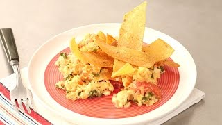 Vegetable Scrambled Egg With Corn Tortilla - Everyday Food With Sarah Carey